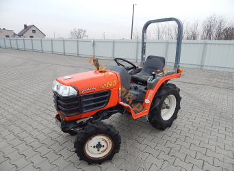 Kubota, model GB145, nr. ramy: 30253 4WD